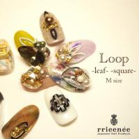 BonnailXRieNofuji Loop square Mシルバー